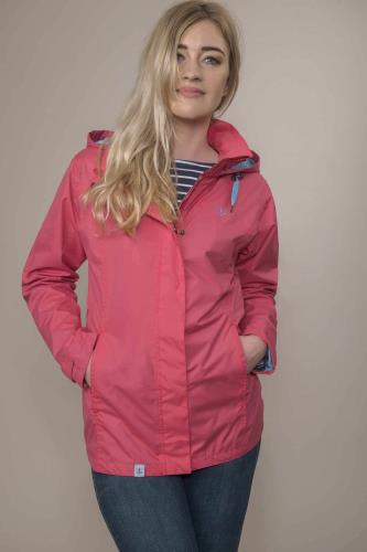 Ladies Beachcomber Jacket (Scarlet)