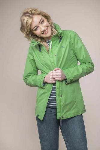Ladies Beachcomber Jacket (Green)