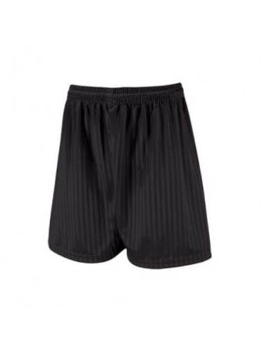 Shadow Stripe Shorts (Black)