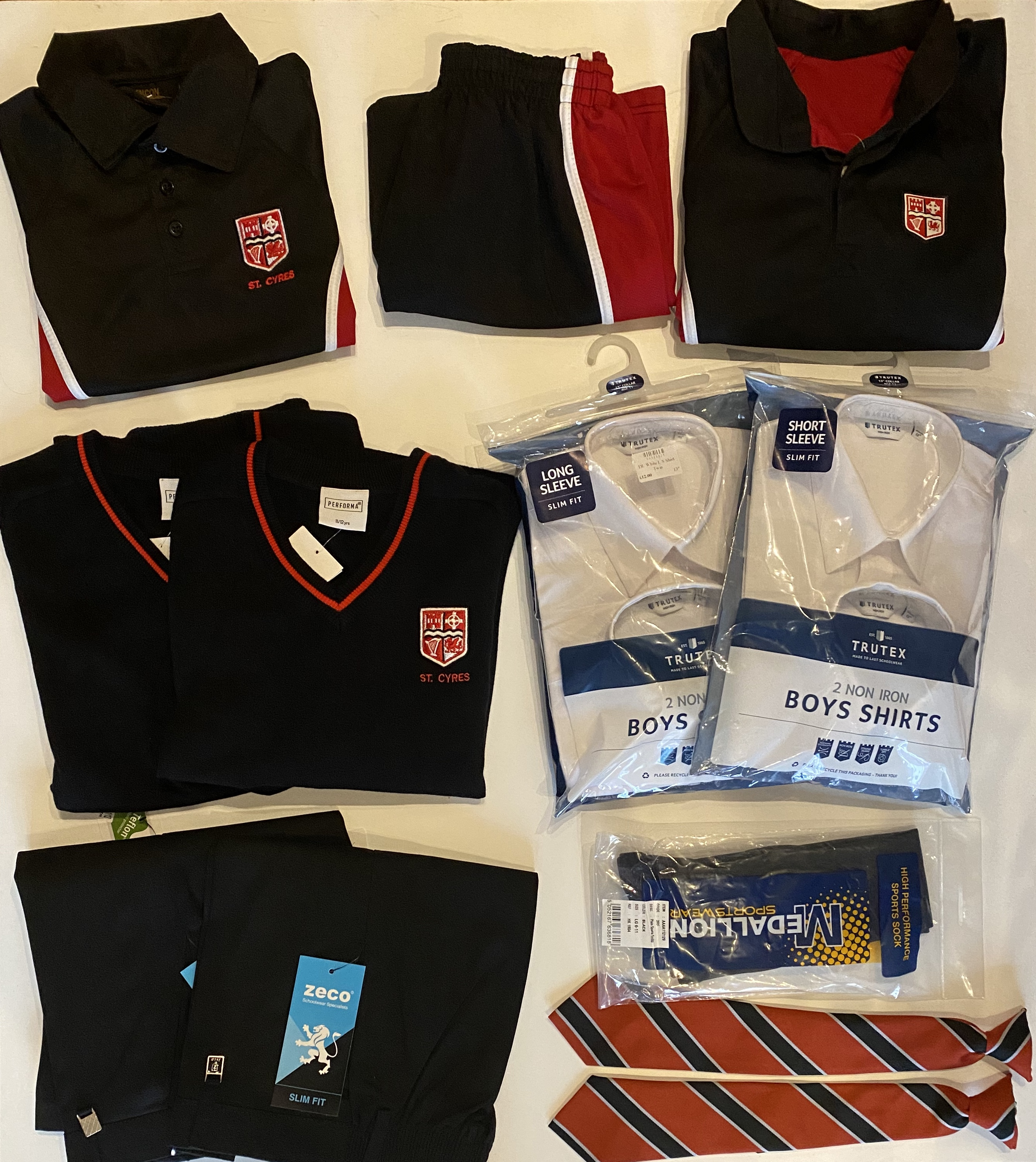 SRG Back to School Bundle £125 (Boys)