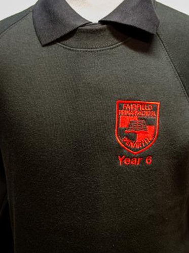Fairfield Yr 6 Black Sweatshirt