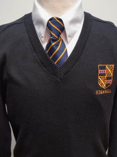 Stanwell Boys Jumper - Black