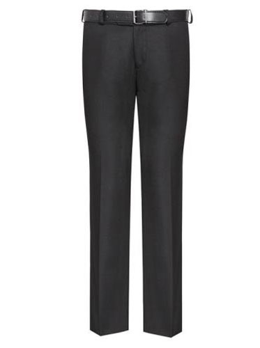 Senior Boys Black Slim Fit Trouser