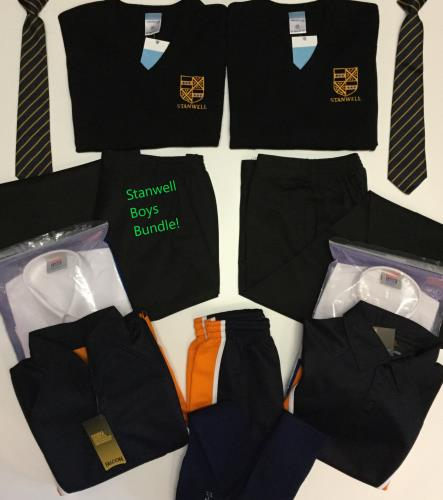 Stanwell Back to School Bundle £129 (Boys)