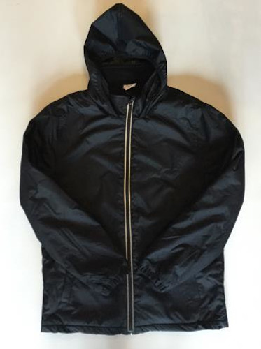 Waterproof Coat - Plain Black