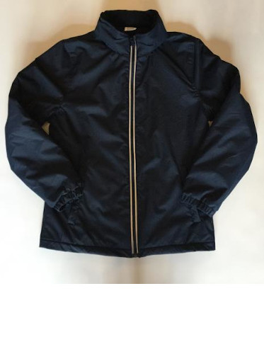 Waterproof Coat - Plain Navy