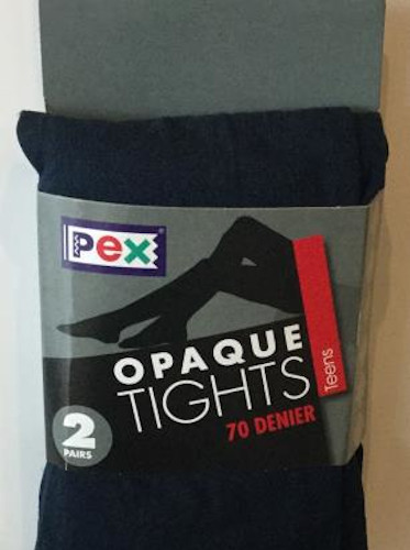 Tights - Opaque Navy